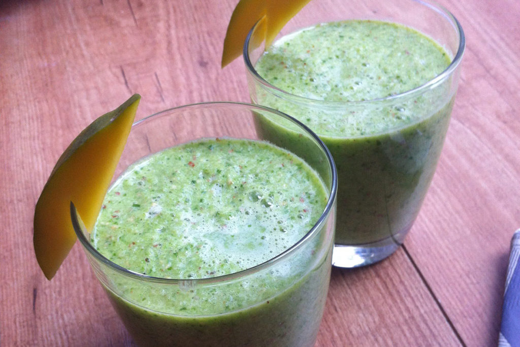 green mango smoothie